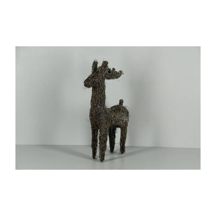 <h4>Deer Rattan Frosted 43cm</h4>