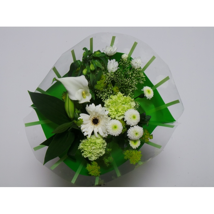 <h4>Bouquet 10 stems White</h4>