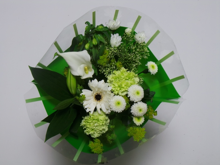 <h4>Bouquet 10 stems White</h4>