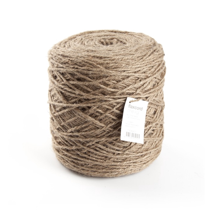 <h4>FLAXCORD 3,5MM 1KG naturel</h4>
