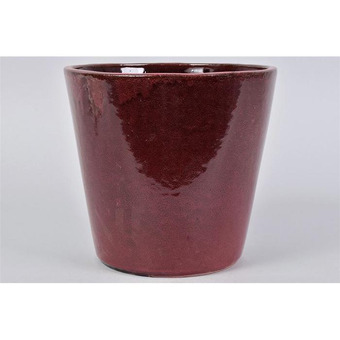 <h4>Alicante Ruby Red Pot 24x22cm</h4>