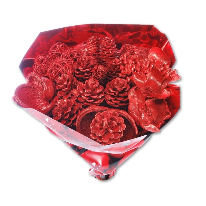 <h4>BOUQUET RED RED GLITTER</h4>
