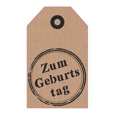 <h4>Bloemkaartjes ma -Zum Geburtstag- pakje 20 stuks</h4>