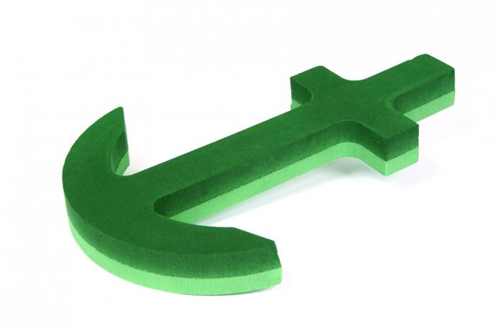 <h4>Steekschuim Basic 3D Anker 81*47cm</h4>