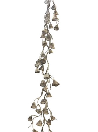 <h4>Dangling bell garland 165cm wh</h4>