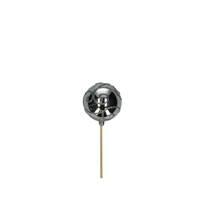 <h4>Christmas sticks 50cm Christmas ball d6cm deco</h4>