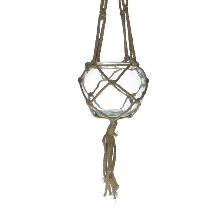 <h4>Glas Hangpot d15*13cm</h4>