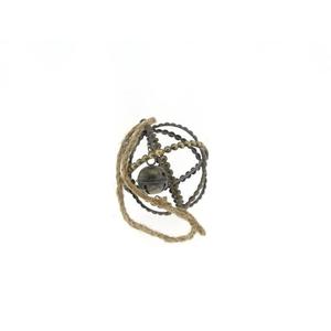 Ball Mtl+rope Ø10xh12 Ant.gold