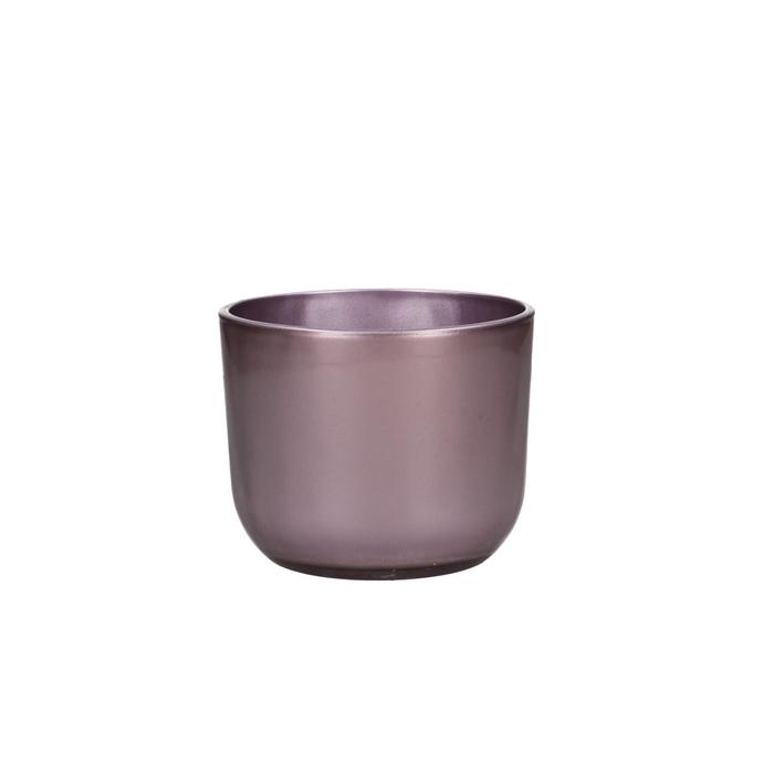 <h4>Glas kleur Pot Ovaal 12*10*10cm</h4>