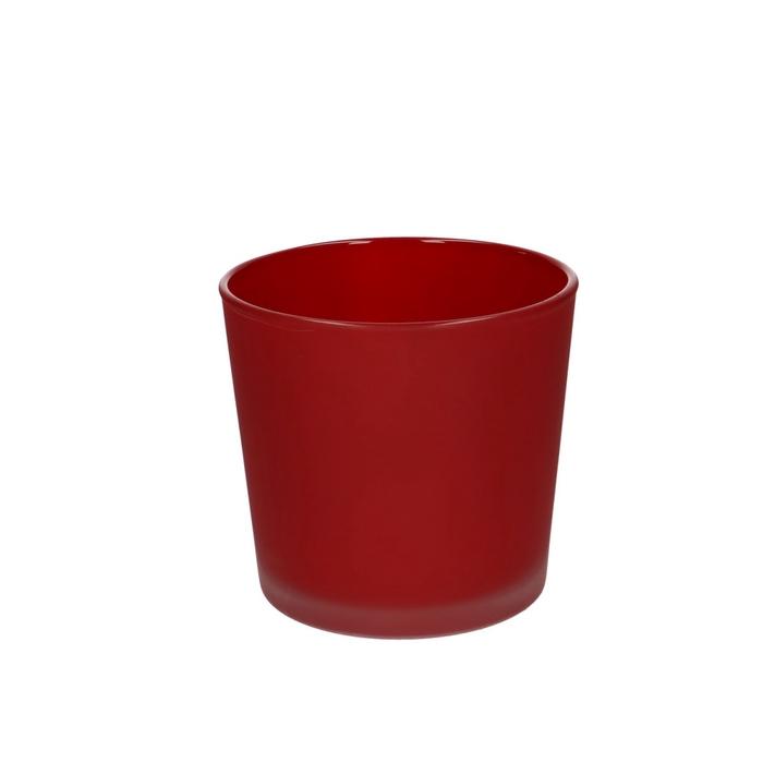 <h4>Glas kleur Pot Conner mat d11.5*11cm</h4>