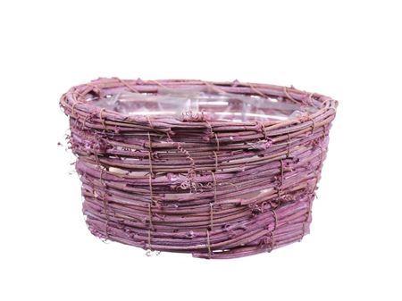 <h4>Basket Timbo d26xh10.5 pink</h4>