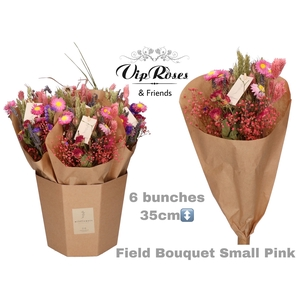 DRIED BOUQUET SMALL PINK