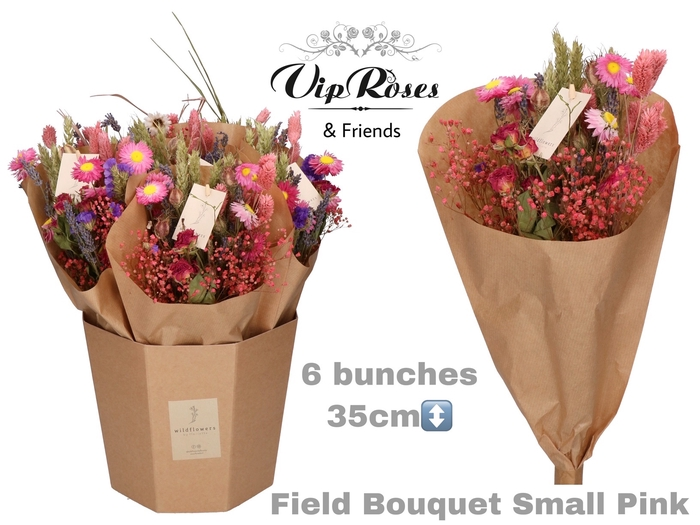 <h4>DRIED BOUQUET SMALL PINK</h4>