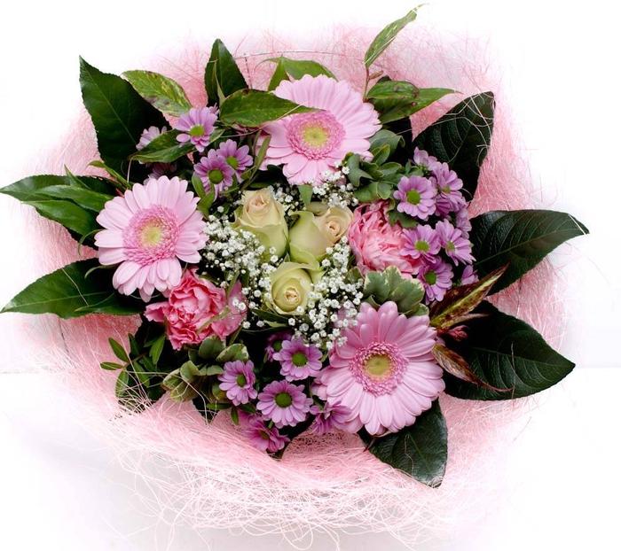 <h4>Boeket sisal lux 1715 roze</h4>