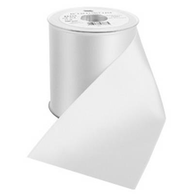 <h4>Funeral ribbon DC exclusive 100mmx25m white</h4>