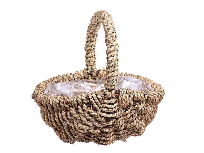 <h4>DF470592900 - Basket Moira oval 29x21 natural</h4>