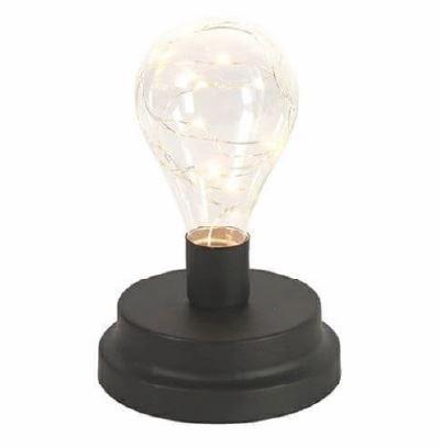 <h4>DF883822300 - Lamp Tyler black 16cm</h4>