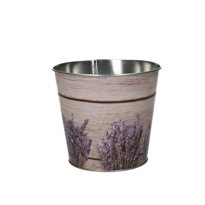 <h4>Zink Pot lavendel d12*10.5cm</h4>