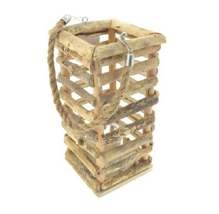 <h4>DF883824700 - Lantern wood 30cm</h4>