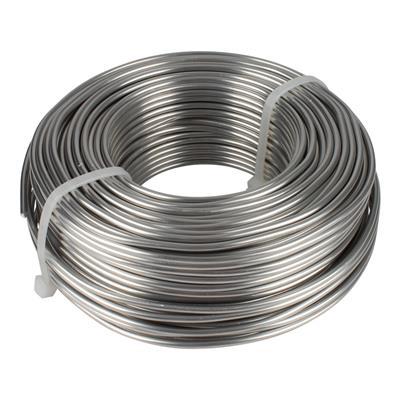 <h4>Aluminium wire  3,0mm  - role 1kg</h4>