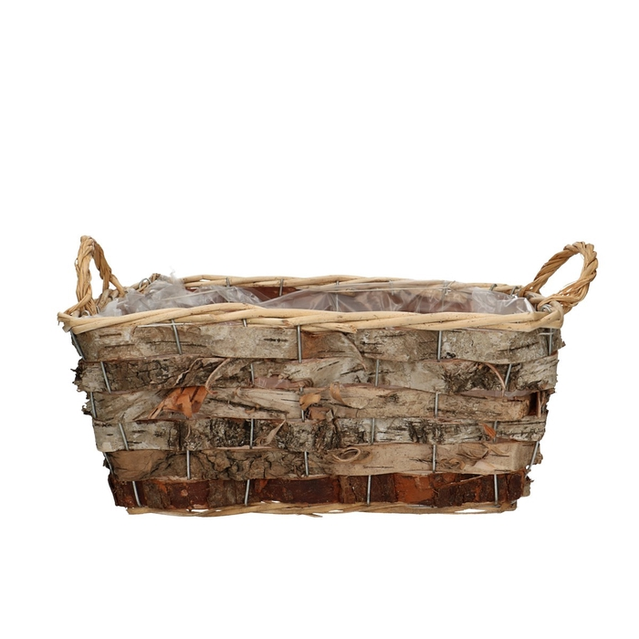 <h4>Baskets Bark Tray rect. d31*23*13cm</h4>