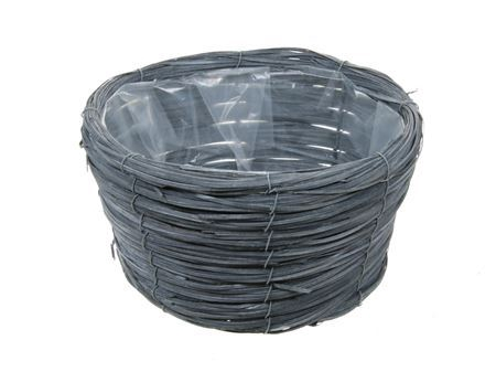 <h4>Basket Paia d27xh15 grey</h4>