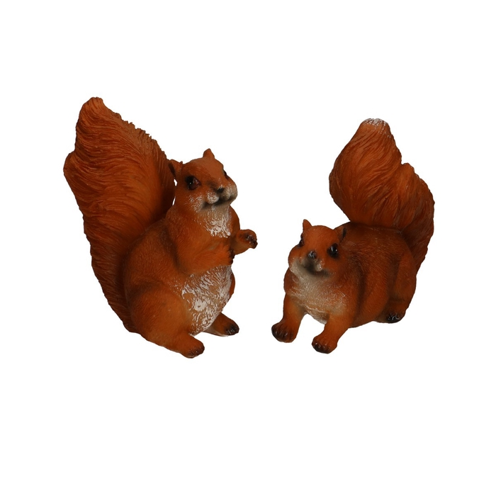 <h4>Autumn Squirrel 10*5*9cm ass.</h4>