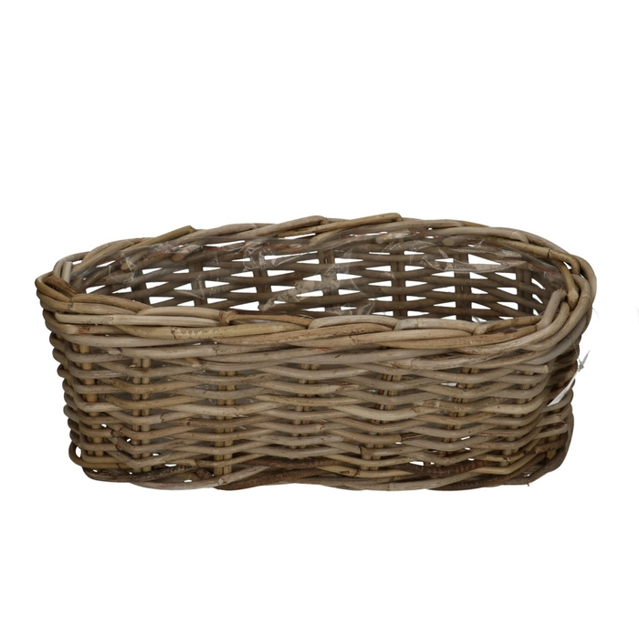 <h4>Baskets Rattan tray oval 50*20*20cm</h4>