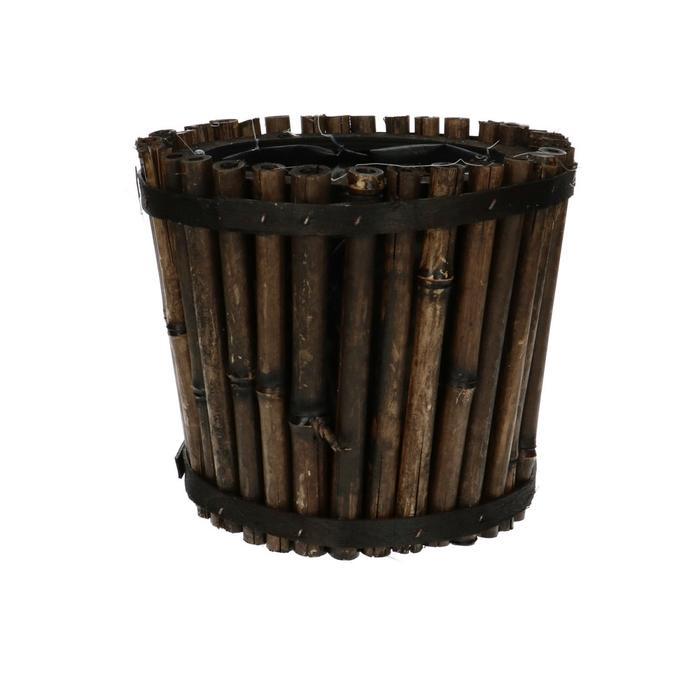 <h4>Manden Bamboe pot d18*16cm</h4>