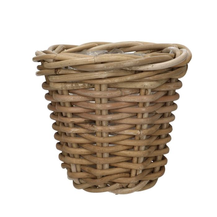 <h4>Baskets Rattan pot d16*15cm</h4>