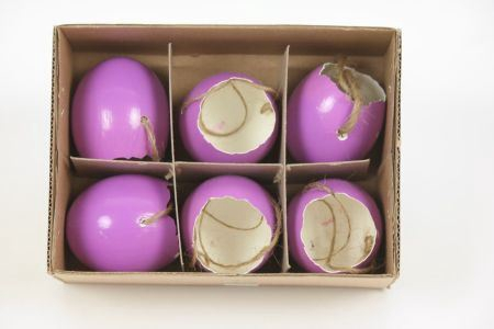 <h4>Hang. Egg Shell Shiny 6pc</h4>
