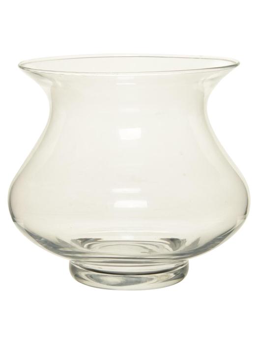 <h4>DF882407400 - Vase Megil d28.5/29.5xh28cm clear</h4>