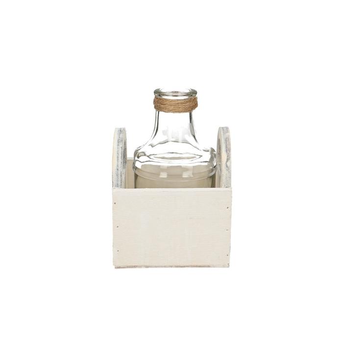 <h4>Glas Bak hv 1fles d3/6*13cm</h4>