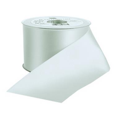 <h4>Funeral ribbon DC exclusive 40mmx25m Bridal White</h4>
