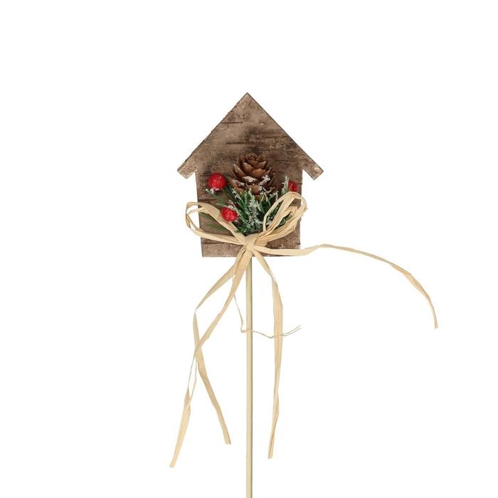 <h4>Christmas sticks 20cm Christmas house d8.5cm</h4>