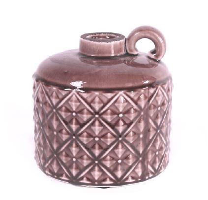 <h4>DF883821800 - Vase Hatley lilac 18cm</h4>