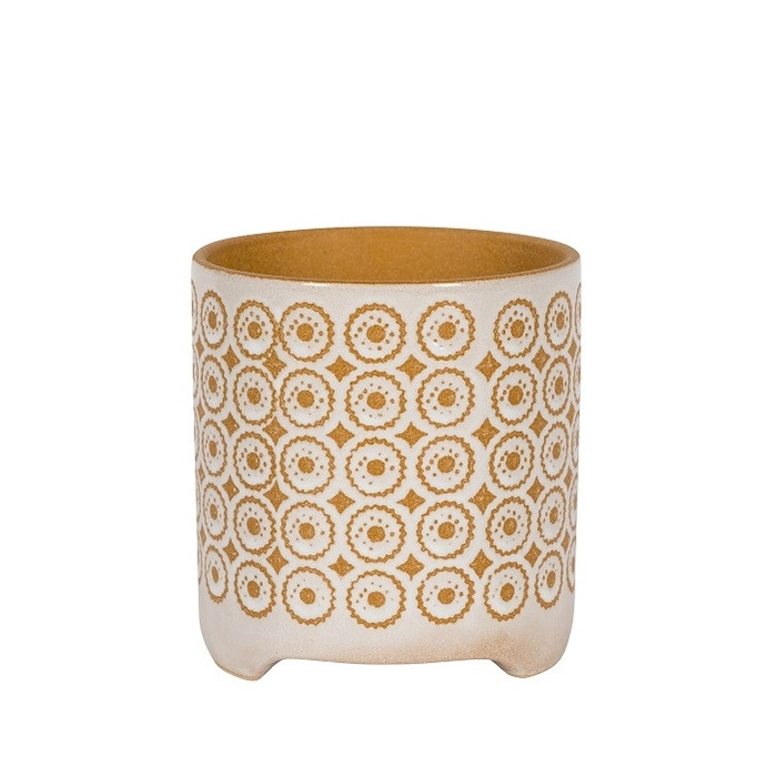 <h4>Ceramics Byron pot d13.5*14cm</h4>