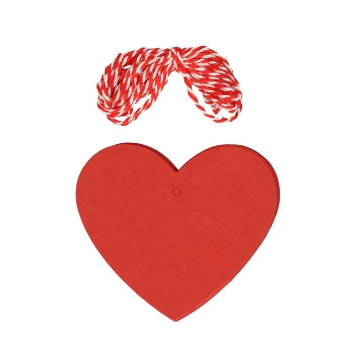 <h4>Valentijn Hanger hart karton d7cm x48</h4>
