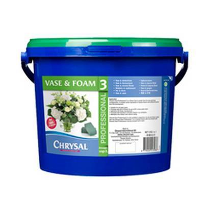 <h4>Chrysal 2BC CLEAR prof. 3 seau à poudre 5kg</h4>