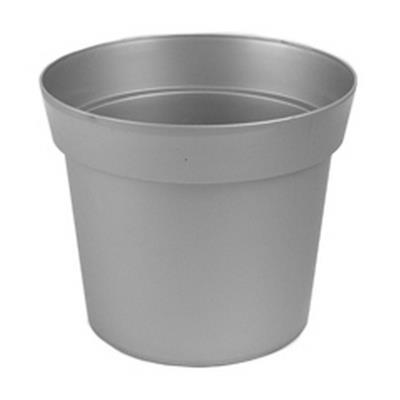 <h4>Pot en plastique Basic couleur zinc ø21cmxh17,5cm</h4>