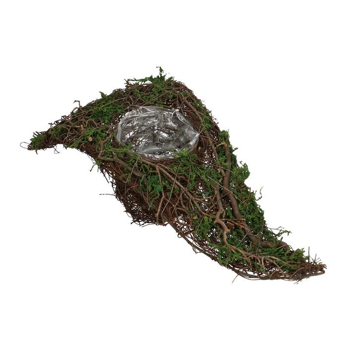 <h4>Allerheiligen Salim planter punt+mos 42*20cm</h4>