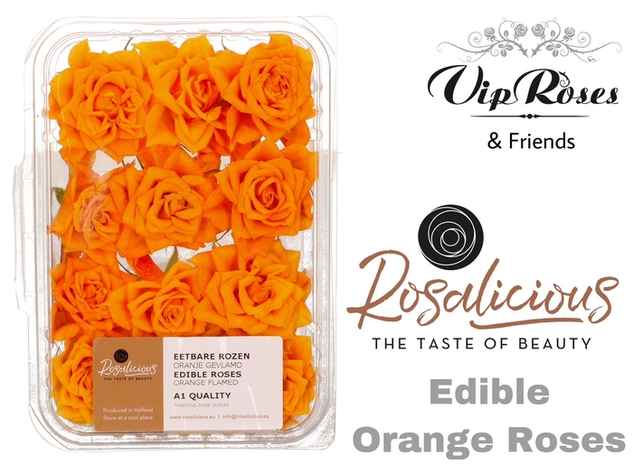 <h4>R Edible Rosalicious Orange</h4>