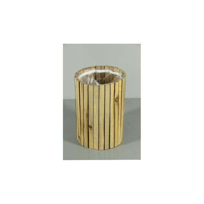 <h4>Planter Wood Cil. Ø20xh30cm Na</h4>