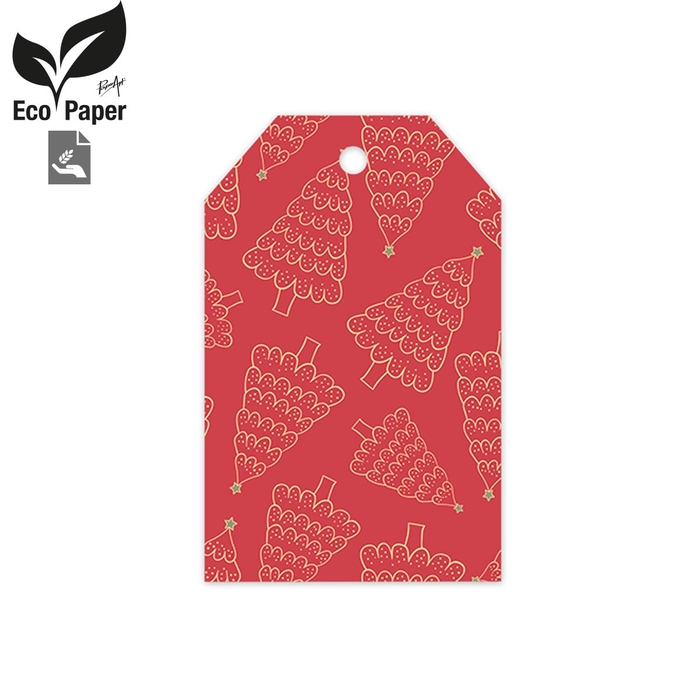 <h4>Kerst Displ.Card Kerstboom 5*8cm x20</h4>