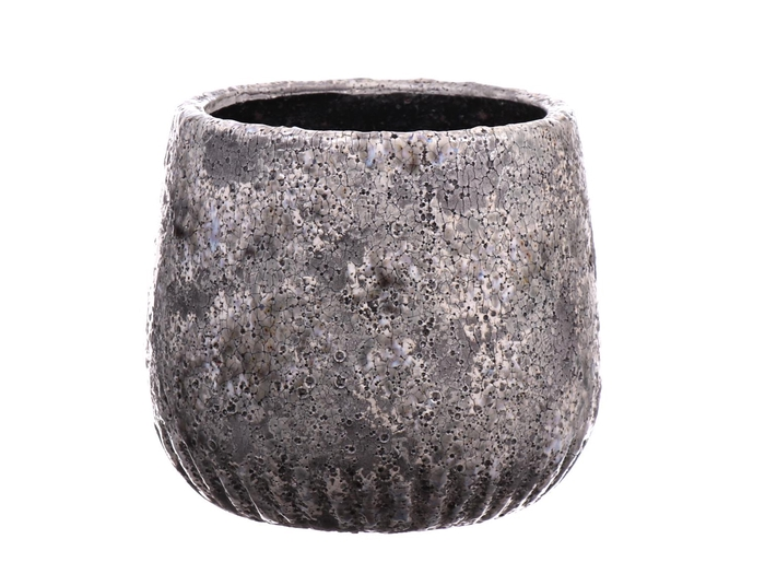 <h4>DF550140100 - Pot Toano d17xh14.5 grey</h4>