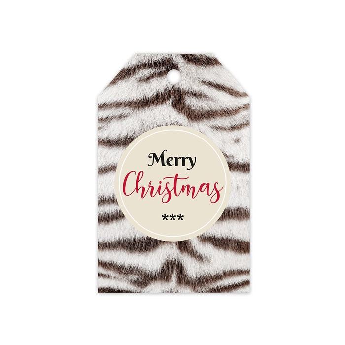 <h4>Christmas Displ.Card GB Merry 5*8cm x20</h4>
