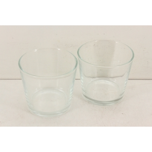Deco. 10200075 - Glas pot rond L