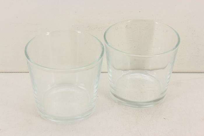 <h4>Deco. 10200075 - Glas pot rond L</h4>