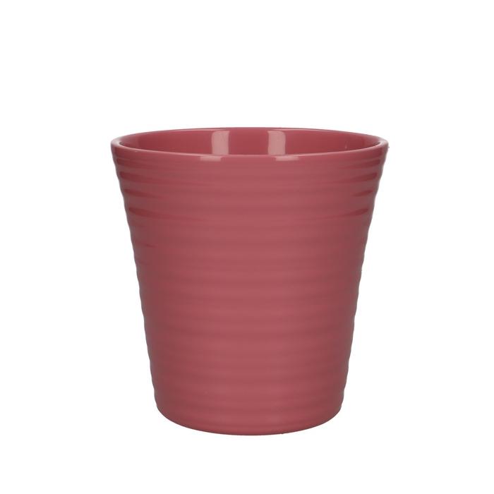 <h4>Keramiek Phal.pot ribbel d13*13cm</h4>