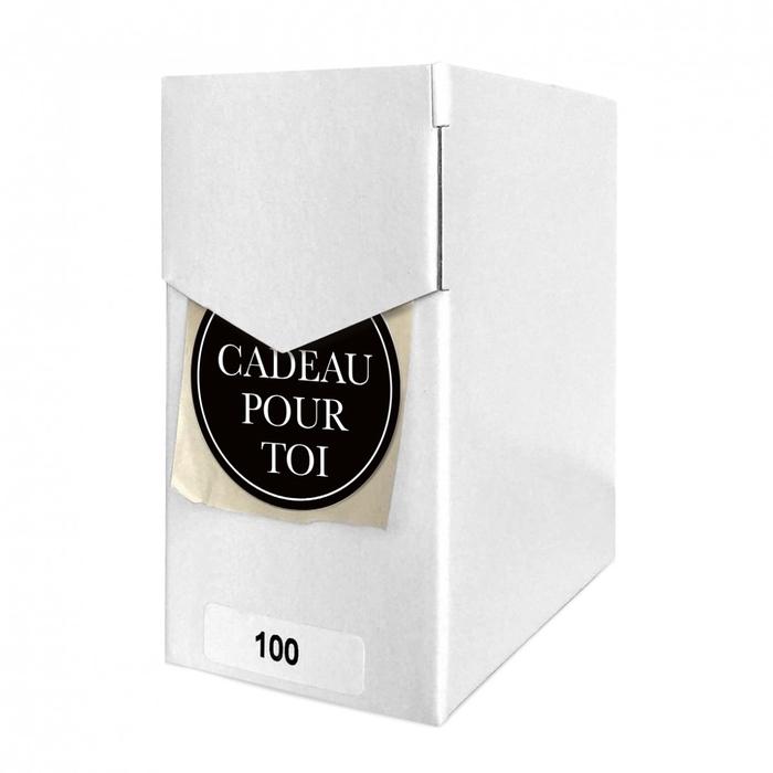<h4>Labels Sticker 40mm x100 Un cadeau</h4>